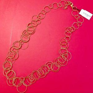 NWT Talbots Circle Necklace